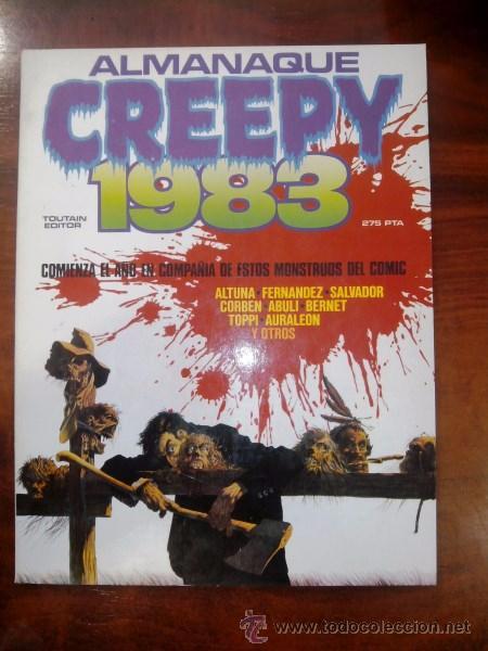 CREEPY : ALMANAQUE 1983 (Tebeos y Comics - Toutain - Creepy)