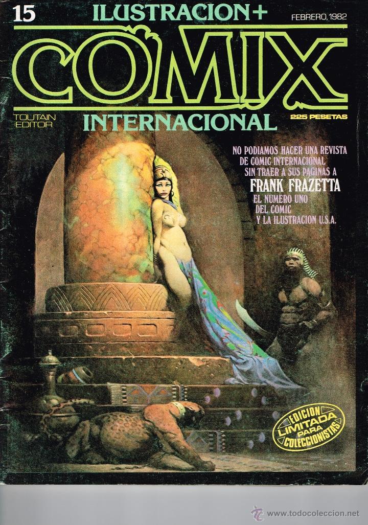 REVISTA COMIX INTERNACIONAL 15.TOUTAIN EDITOR. (Tebeos y Comics - Toutain - Comix Internacional)
