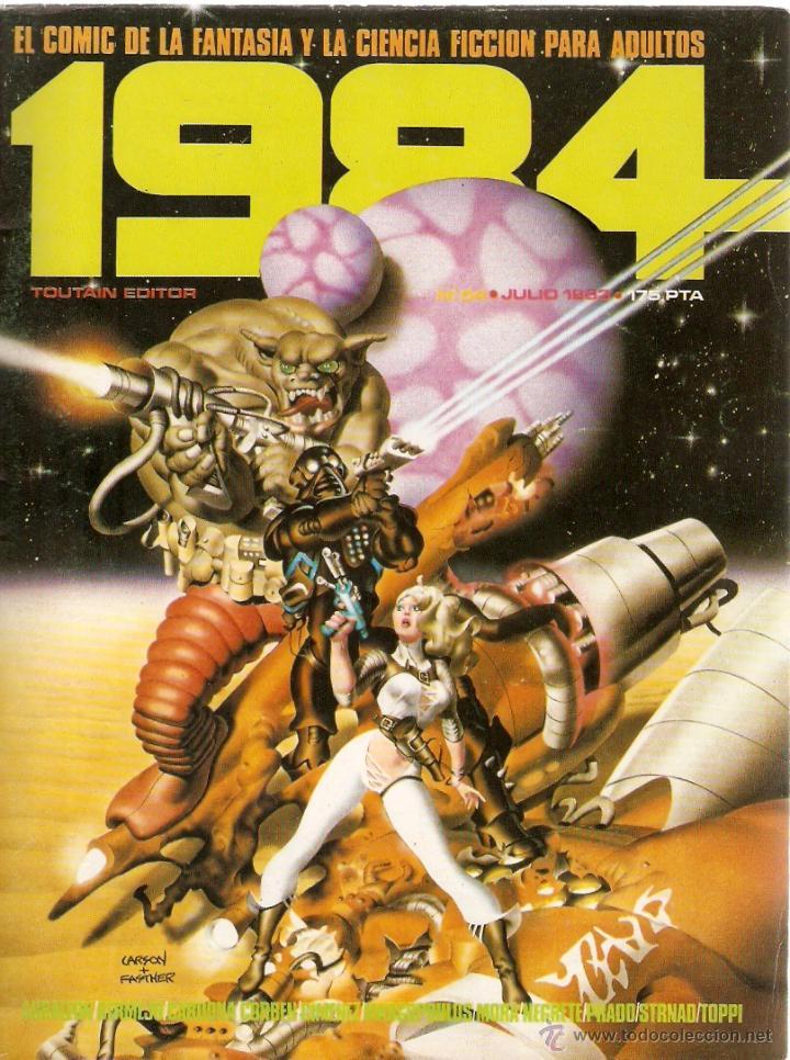 CÓMIC 1984 Nº 54 (Tebeos y Comics - Toutain - 1984)