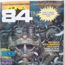Fumetti: ZONA 84 COMIC Nº 84 - CON SUPLEMENTO EXTRA DE FRANK FRAZETTA - TOUNTAIN EDITOR 1984. Lote 53614946