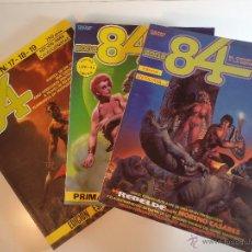 Cómics: ZONA 84. PRIMAVERA 2 N.º 7-8-9 / OTOÑO 1. N.º 17-18-19 / ANTOLOGÍA Nº 3. TOUTAIN EDITOR.. Lote 53644093