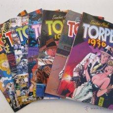 Cómics: TORPEDO 1936 - BERNET - ABULÍ - 8 TOMOS - DEL 0 AL 7 - TOUTAIN EDITOR - AÑOS 80.. Lote 53787913