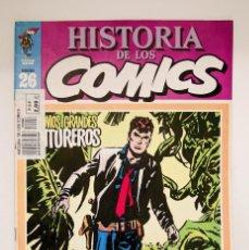 Cómics: HISTORIA DE LOS COMICS - TOUTAIN FASCÍCULO Nº 26. Lote 53816710