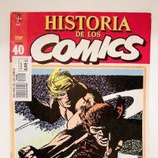 Cómics: HISTORIA DE LOS COMICS - TOUTAIN FASCÍCULO Nº 40. Lote 53816721