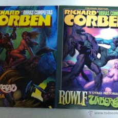 Cómics: RICHARD CORBEN - LOTE DE 4. Lote 53882703