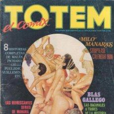 Cómics: TOTEM EL COMIX Nº 14 ED.TOUTAIN NUEVA ÉPOCA.CÓMIC EN BUEN ESTADO. Lote 54093458