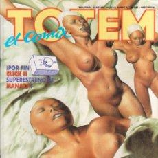 Cómics: TOTEM EL COMIX Nº 58 ED.TOUTAIN NUEVA ÉPOCA.CÓMIC EN EXCELENTE ESTADO. Lote 54093637