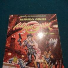 Comics : ALEX MAGNUM - COMIC DE A. GENIES - GUIÓN E.S. ABULÍ - TOUTAIN 1986 - JOVENES AUTORES ESPAÑOLES Nº 2. Lote 54170777