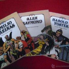 Cómics: CUANDO EL COMIC ES NOSTALGIA COMPLETA - EMILIO FREIXAS - ALEX RAYMOND - HAROLD FOSTER - CARTONE. Lote 54334193