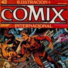 Cómics: ILUSTRACIÓN + COMIX INTERNACIONAL. Nº 42. TOUTAIN EDITOR. EDICIÓN LIMITADA PARA COLECCIONISTAS. 1984. Lote 54728877