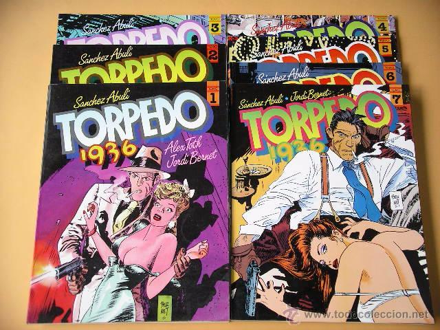 TORPEDO 1936, COMPLETA EN TOMOS, ED. TOUTAIN, SANCHEZ ABULÍ, JORDI BERNET ERCOM C9 (Tebeos y Comics - Toutain - Álbumes)