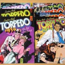 Cómics: TORPEDO 1936, COMPLETA EN TOMOS, ED. TOUTAIN, SANCHEZ ABULÍ, JORDI BERNET ERCOM C9. Lote 54772031