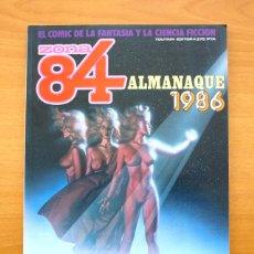 Cómics: ZONA 84 - ALMANAQUE PARA 1986 - TOUTAIN EDITOR. Lote 54930394