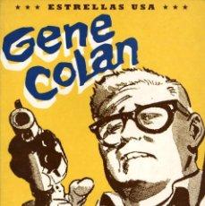 Cómics: GENE COLAN (TOUTAIN, 1991) COL. ESTRELLAS USA. Lote 55040879