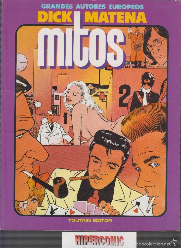 MITOS - GRANDES AUTORES EUROPEOS - AUTOR -- DIK MATENA (Tebeos y Comics - Toutain - Álbumes)