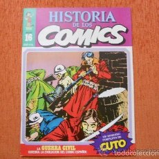 Cómics: HISTORIA DE LOS COMICS 16 COMICS ESPAÑOLES DE CUTO , PEPE CARTER Y DOCTOR NIEBLA . Lote 55115740