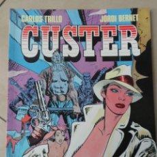 Cómics: CUSTER - POSIBLE ENVÍO GRATIS - TOUTAIN EDITOR - CARLOS TRILLO & JORDI BERNET. Lote 55906588