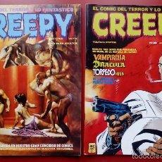 Cómics: CREEPY NÚMERO23 Y 38 (TOUTAIN, 1979) -(LOTE DE 2 NÚMS) - TAMBIÉN SUELTOS. Lote 55924303