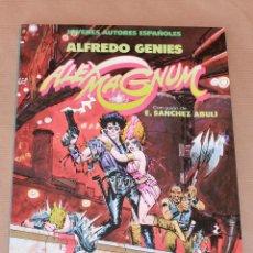 Cómics: JOVENES AUTORES ESPAÑOLES 2 - ALEX MAGNUM - A. GENIES - TOUTAIN AÑO 1986 - COMO NUEVO. Lote 55954761