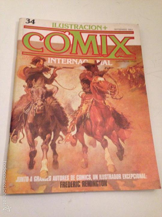 COMIX INTERNACIONAL Nº 34. TOUTAIN 1983. (Tebeos y Comics - Toutain - Comix Internacional)