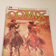Cómics: COMIX INTERNACIONAL Nº 34. TOUTAIN 1983. . Lote 56008623