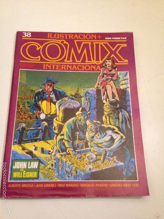 COMIX INTERNACIONAL Nº 38. TOUTAIN 1984. ALBERTO BRECCIA, MILO MANARA, JUAN GIMENEZ, MORDILLO (Tebeos y Comics - Toutain - Comix Internacional)