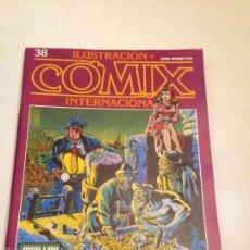 Cómics: COMIX INTERNACIONAL Nº 38. TOUTAIN 1984. ALBERTO BRECCIA, MILO MANARA, JUAN GIMENEZ, MORDILLO. Lote 56008750