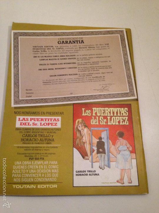 Cómics: COMIX INTERNACIONAL Nº 38. TOUTAIN 1984. ALBERTO BRECCIA, MILO MANARA, JUAN GIMENEZ, MORDILLO - Foto 2 - 56008750