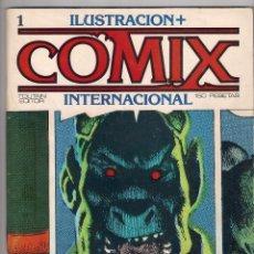 Cómics: COMIX INTERNACIONAL- LOTE DEL Nº 1 AL Nº 17. Lote 56028427