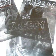 Cómics: CREEPY. LOS 4 FOTOLITOS ORIGINALES QUE COMPONEN LA PORTADA DEL Nº 16. Lote 56043127