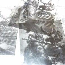 Cómics: ZONA 84. LOS 4 FOTOLITOS ORIGINALES DE UNA PORTADA DE LA REVISTA. CORBEN. Lote 56083108