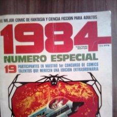 Cómics: 1984 NUMERO ESPECIAL PRIMER CONCURSO DE COMICS - 1980 - 80 PÁGINAS. Lote 56610328