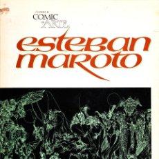 Cómics: CUANDO EL COMIC ES ARTE. ESTEBAN MAROTO. TOUTAIN EDITOR.. Lote 56667650