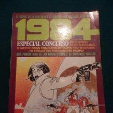 Cómics: 1984 - ESPECIAL CONCURSO Nº 2 - COMIC - TOUTAIN EDITOR - VER ÍNDICE. Lote 56932286