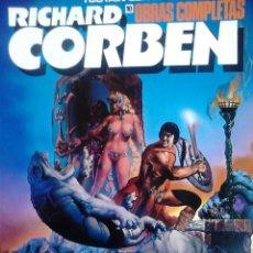 Comics : OBRAS COMPLETAS 10 RICHARD CORBEN PILGOR. Lote 56975139