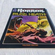 Cómics: LAS MAGISTRALES HISTORIAS DE HORROR DE RUSS HEATH. Lote 57161071