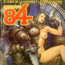 Cómics: ZONA 84 32 H. CHAYKIN F. FERNANDEZ A. SUYDAM J. BERNET. Lote 57309099