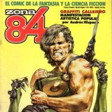 Cómics: ZONA 84 35 H CHAYKIN P MORENO BEROY FERNANDO LOMAX JONES. Lote 57309346
