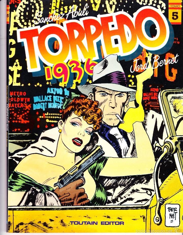 TORPEDO 1936. TOMOS 2 Y 5 DE TOUTAIN EDITOR. SANCHEZ ABULI - JORDI BERNET (Tebeos y Comics - Toutain - Álbumes)