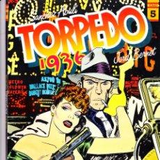 Cómics: TORPEDO 1936. TOMOS 2 Y 5 DE TOUTAIN EDITOR. SANCHEZ ABULI - JORDI BERNET. Lote 57392062
