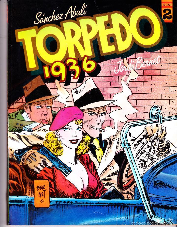 Cómics: TORPEDO 1936. TOMOS 2 Y 5 DE TOUTAIN EDITOR. SANCHEZ ABULI - JORDI BERNET - Foto 2 - 57392062