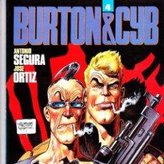 Cómics: BURTON&CYB 4. ANTONIO SEGURA - JOSE ORTIZ. TOUTAIN EDITOR. Lote 57392118