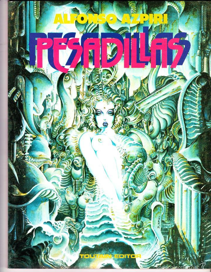 PESADILLAS. ALFONSO AZPIRI. TOUTAIN EDITOR (Tebeos y Comics - Toutain - Álbumes)