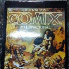 Cómics: TARJETA POSTAL PUBLICIDAD DEL COMIC COMIX INTERNACIONAL ILUSTRACION . Lote 57418914