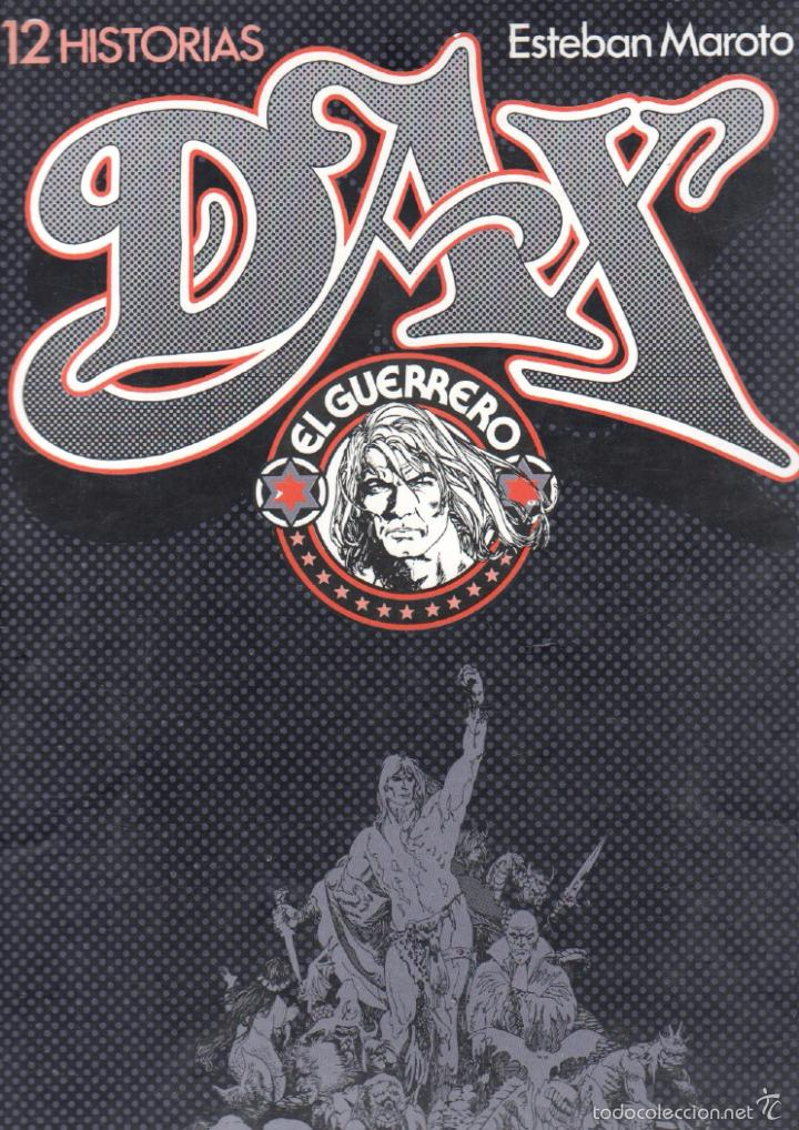 DAX EL GUERRERO POR ESTEBAN MAROTO - 108 PGS - 33,5 X 24 CMS - TOUTAIN (Tebeos y Comics - Toutain - Otros)