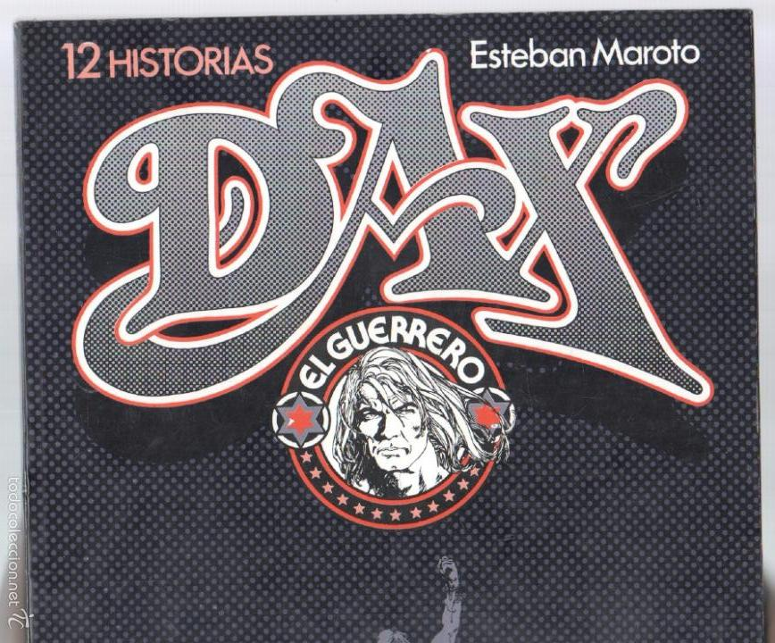 Cómics: DAX EL GUERRERO por ESTEBAN MAROTO - 108 PGS - 33,5 X 24 CMS - TOUTAIN - Foto 2 - 57564983