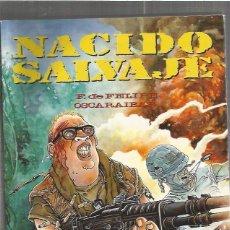 Comics: NACIDO SALVAJE. Lote 57652024