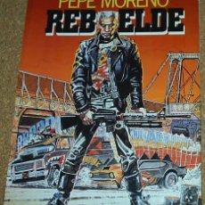 Cómics: REBELDE - PEPE MORENO - TOUTAIN EDITOR 1986 - LEER. Lote 57738483