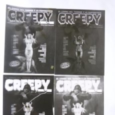 Cómics: CREEPY EXTRA 9. FOTOLITOS ORIGINALES. 4 FOTOLITOS. TOUTAIN . Lote 57830557