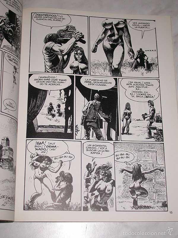 Cómics: UNDERGROUND. RICHARD CORBEN. OBRAS COMPLETAS Nº 3. TOUTAIN, 1985. ++++ - Foto 2 - 57915199